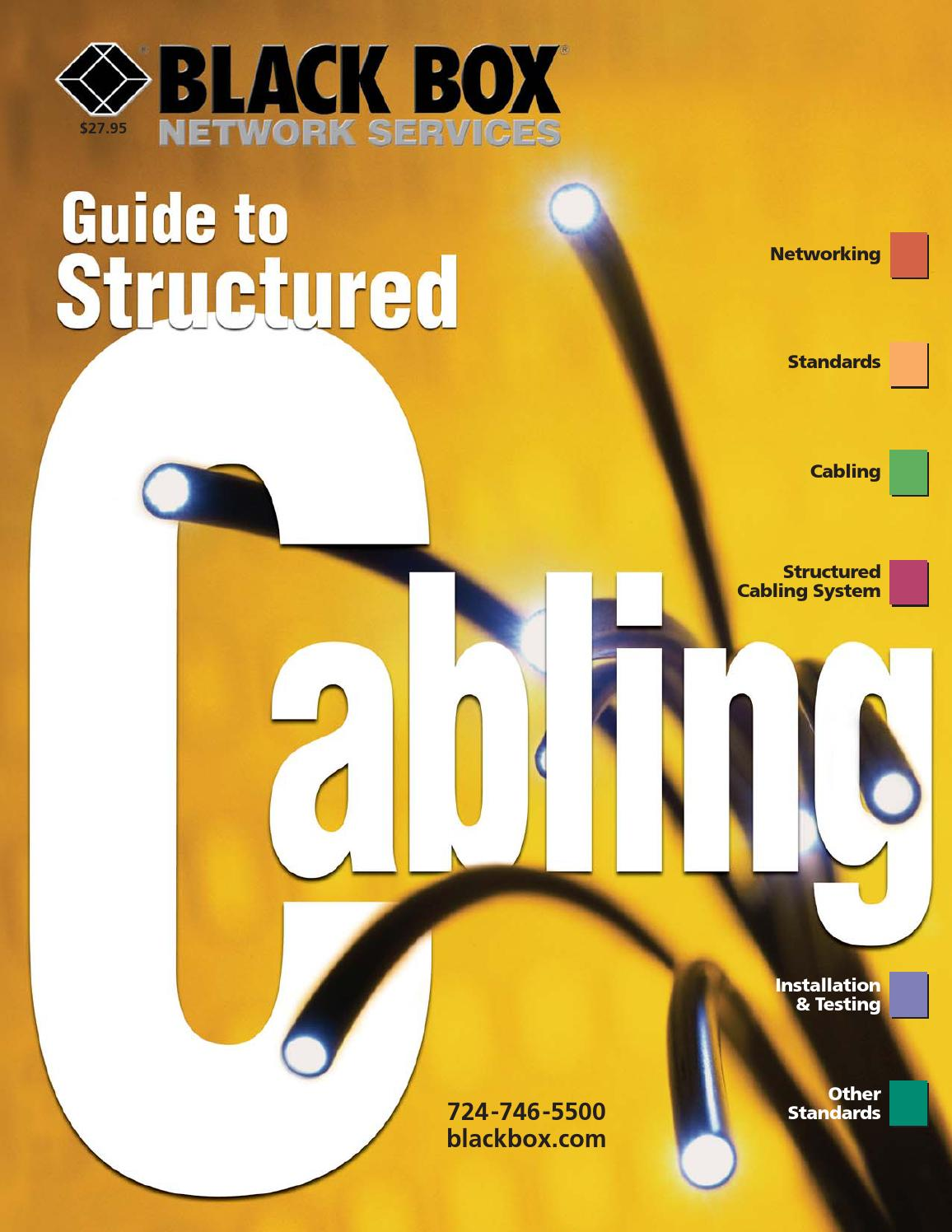 Black Box Cabling Guide By Alex Rhys Issuu Structured Wiring