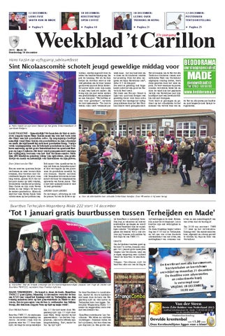 Weekblad t carillon b 20 12 2012 by uitgeverij em de jong issuu weekblad t carillon 10 12 2015 fandeluxe Images