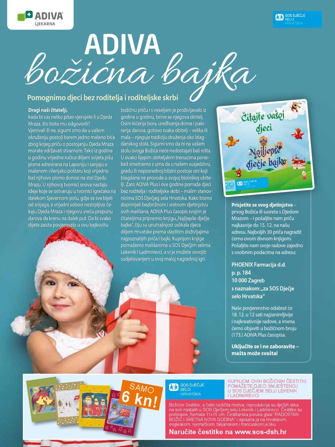 božićne čestitke sos dječje selo ADIVA Plus br. 172 by ADIVA Plus zdravstveni dvotjednik   issuu božićne čestitke sos dječje selo