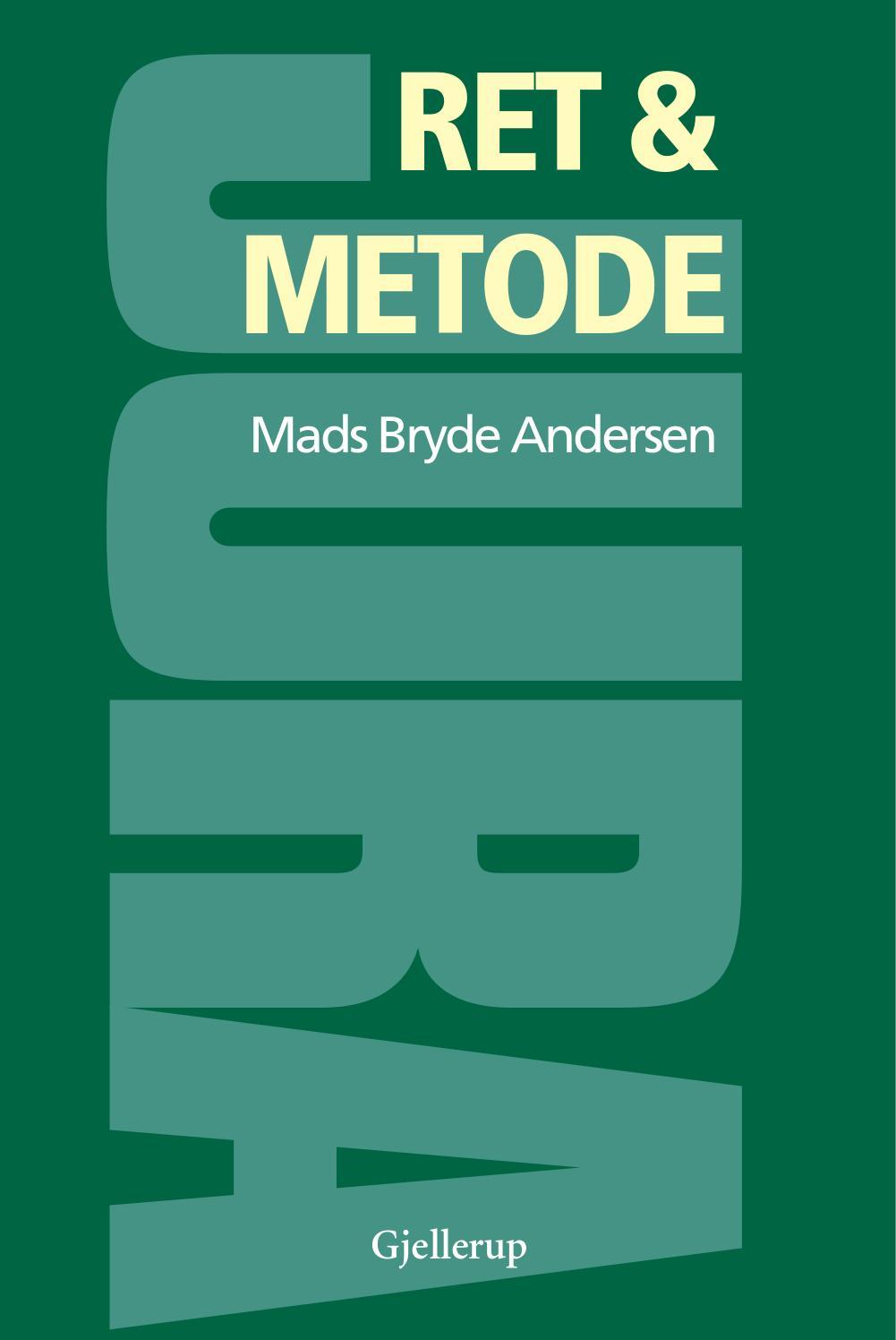 Moderne Ret og metode - e-bog by Gads Forlag - issuu VT-86