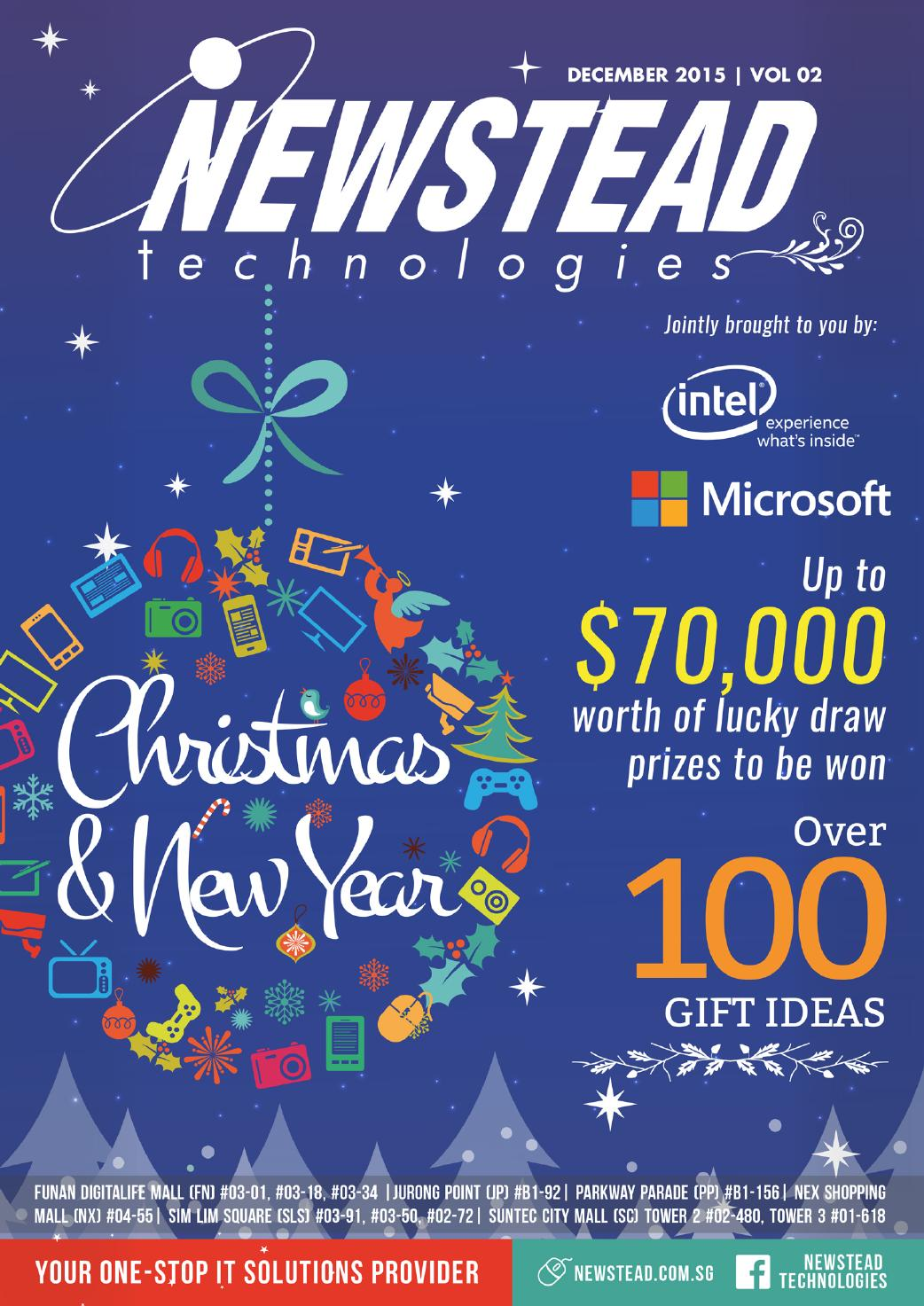 Newstead Technologies Year End Catalogue December-January