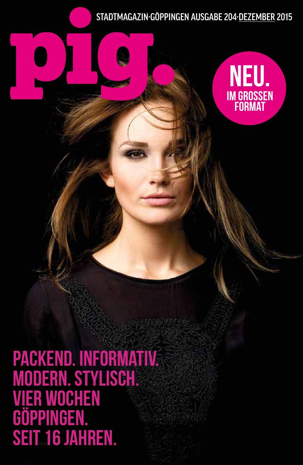 PIG Stadtmagazin Dezember 2015 by PIG Stadtmagazin - issuu