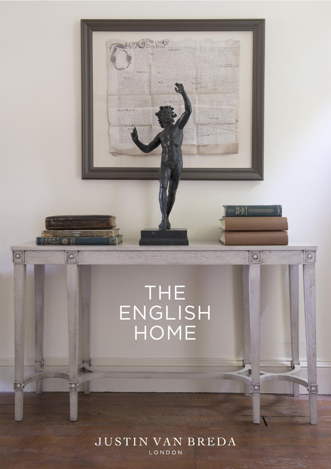 Justin Van Breda London The English Home Collection By