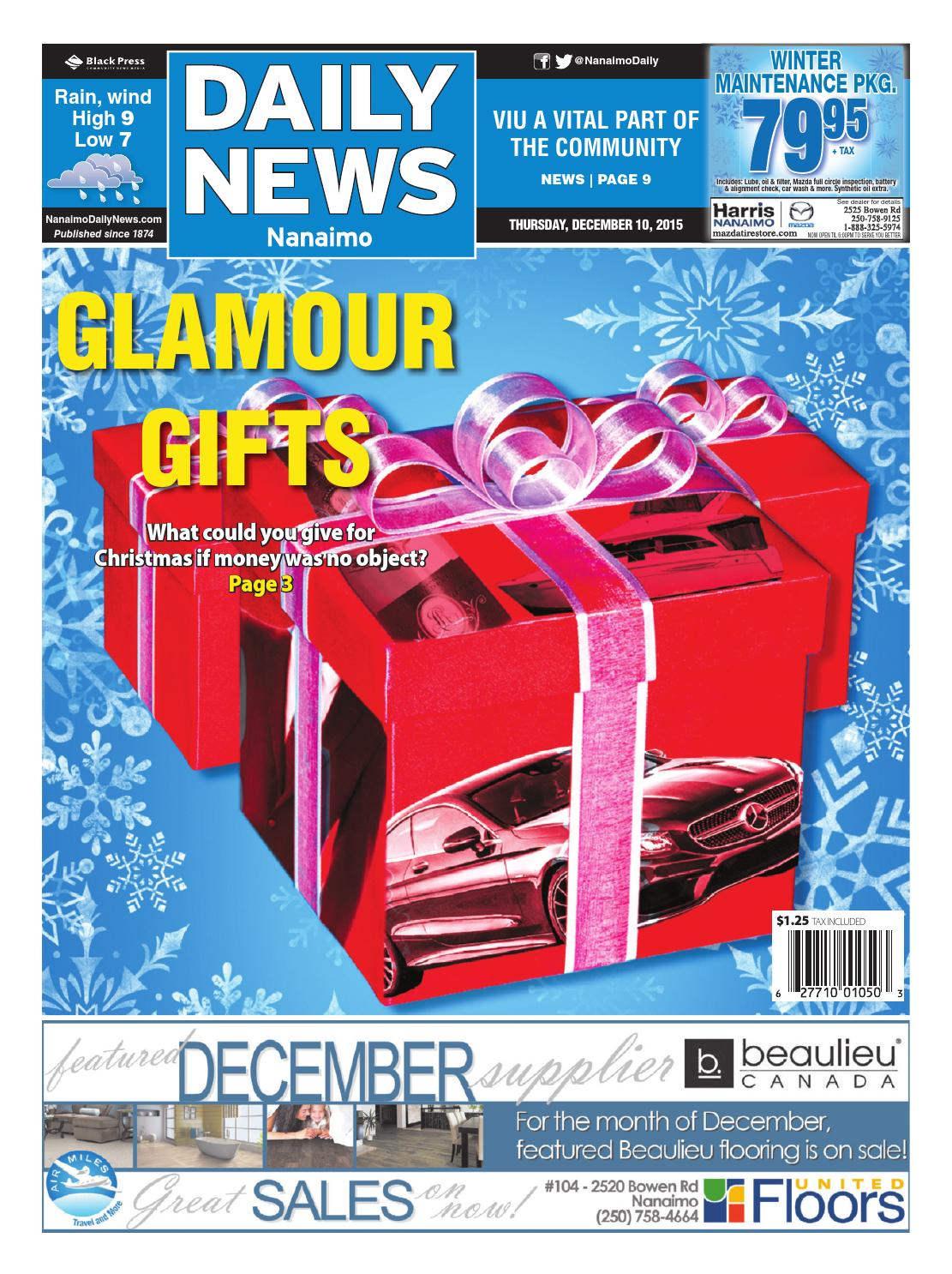 Nanaimo Daily News, December 10, 2015 by Black Press Media