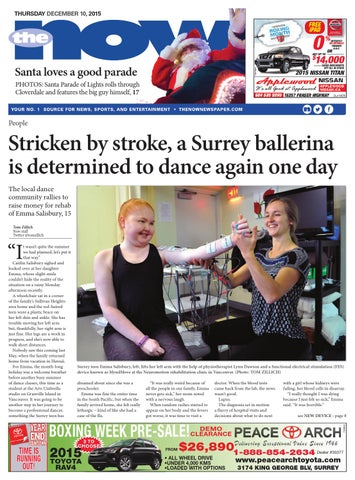 Surrey Now, December 10, 2015 by Black Press Media Group - issuu