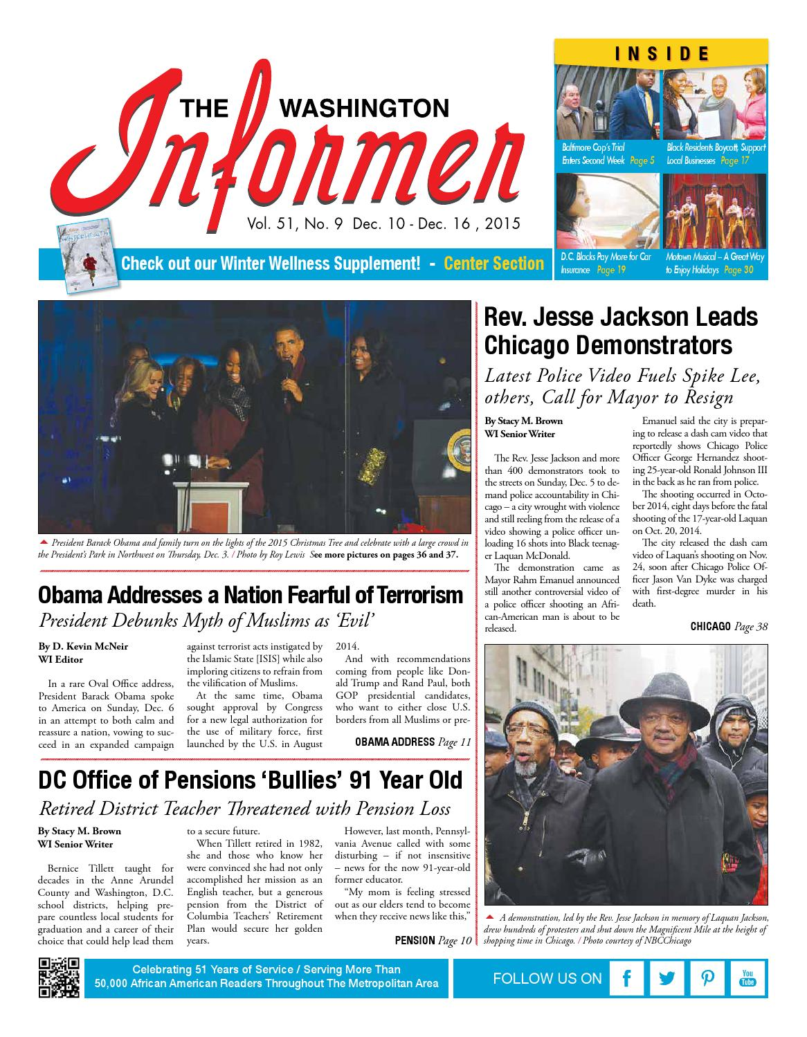 The Washington Informer - December 10, 2015 by The