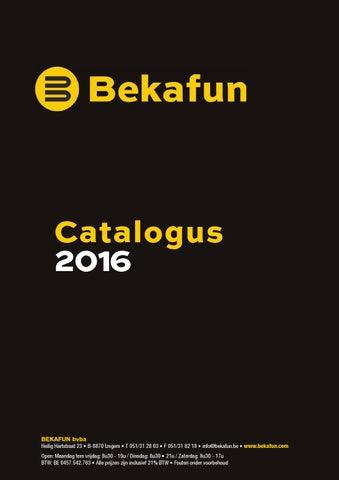a10b810003e Bekafun Catalogus 2016 by bvba bekafun - issuu