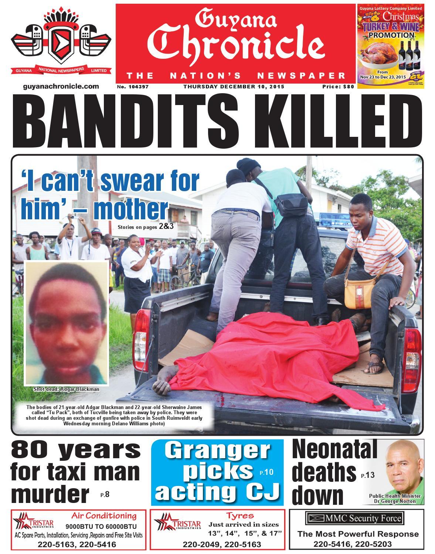 Guyana Chronicle E- Pa...