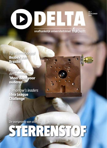 Delta7 By Delta En Delft Integraal Delft Outlook Issuu