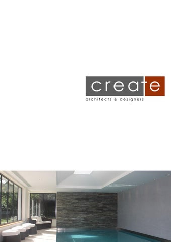 Delightful Create Architects Practice Profile By Create Architects   Issuu
