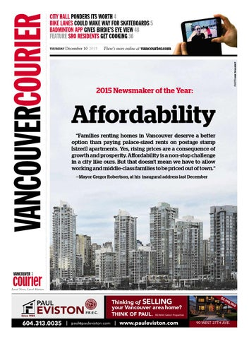 1bbe1e006f06 Vancouver Courier December 10 2015 by Vancouver Courier - issuu