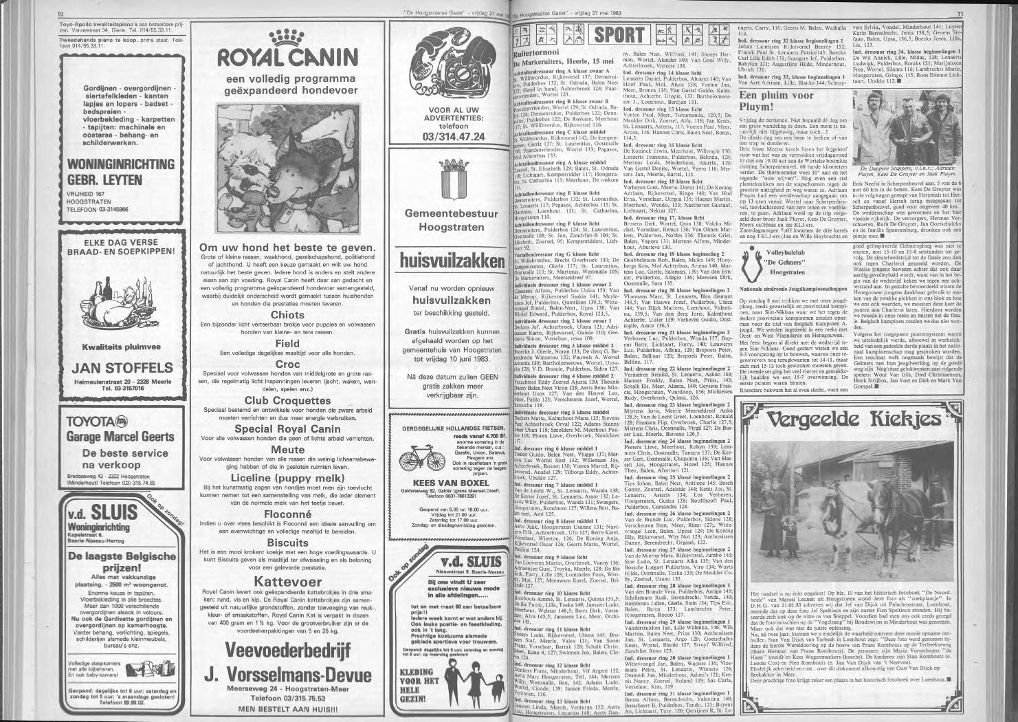 de hoogstraatse gazet mei 1983 nr 18 21 by de hoogstraatse gazet issuu