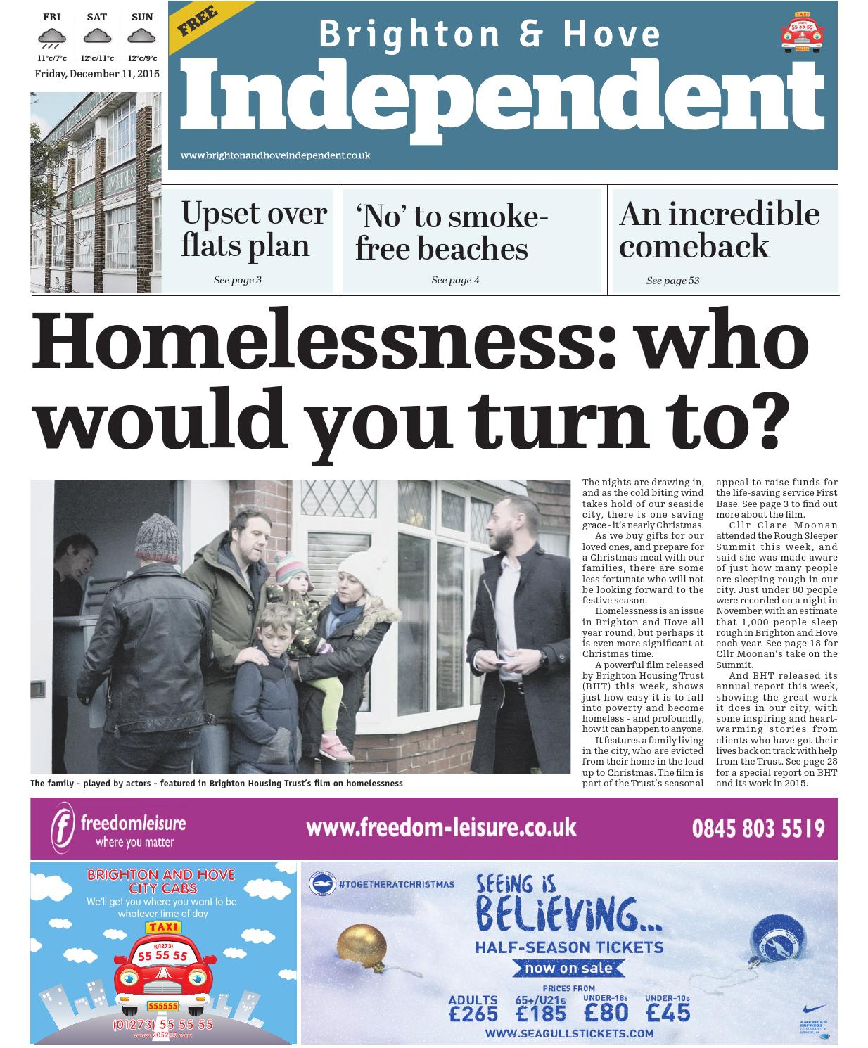 Brighton & Hove Independent - 11 December 2015 by Brighton & Hove ...