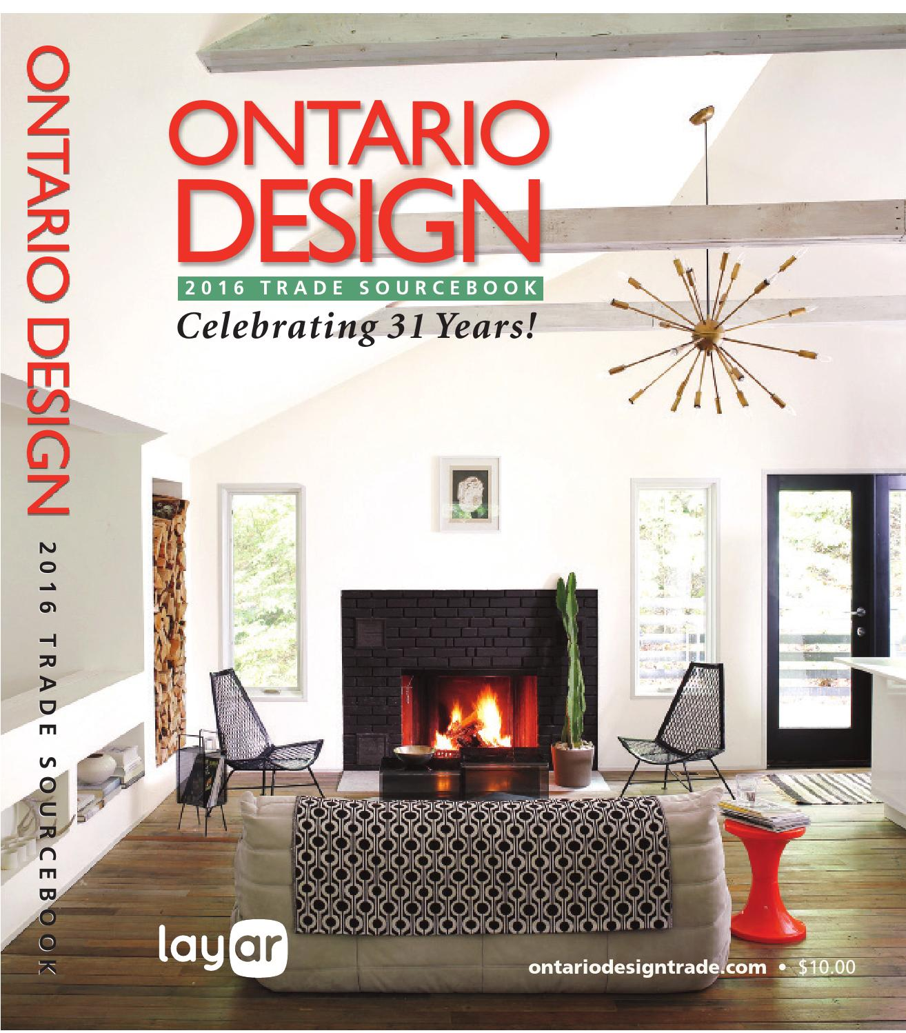 ontario design 2016 by homes publishing group issuu