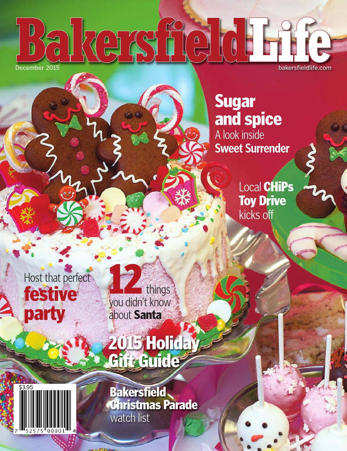 Bakersfield life magazine december 2015 by tbc media for Craft stores bakersfield ca