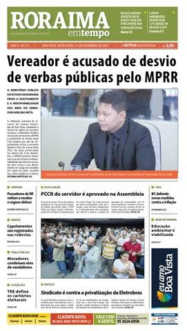Jornal roraima em tempo – edição 211 – período de visualização ... 19566a489653b