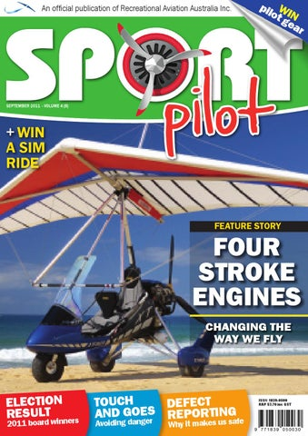 Sport pilot 4 sep 2011 by Recreational Aviation Australia