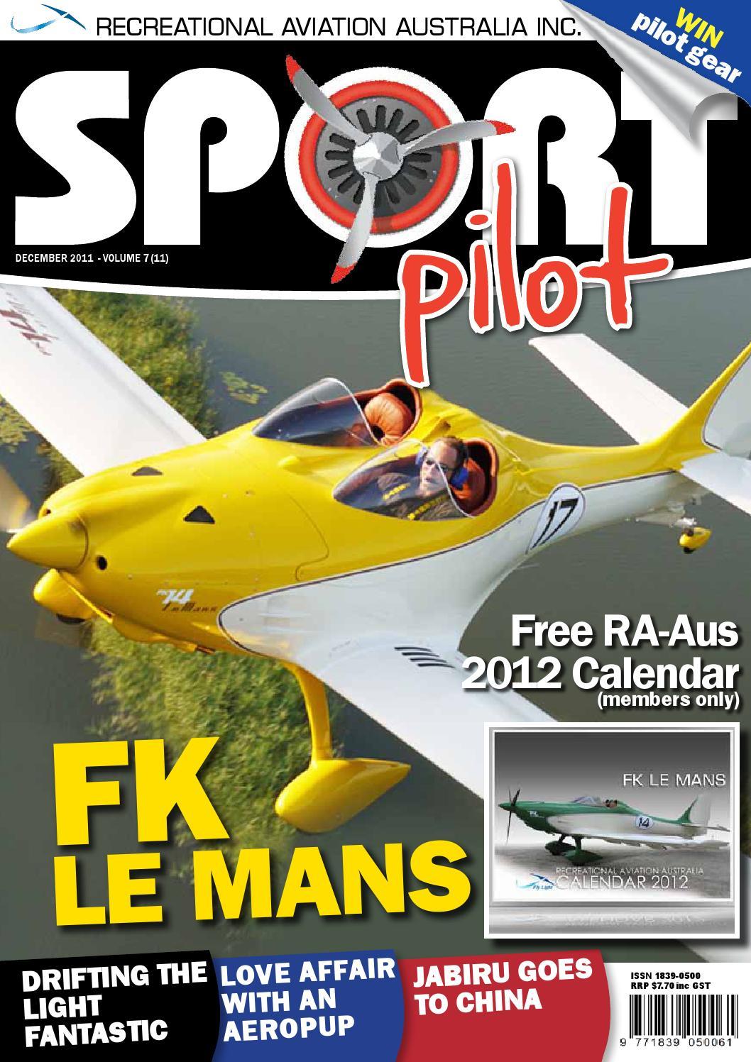 Sport Pilot 7 Dec 2011