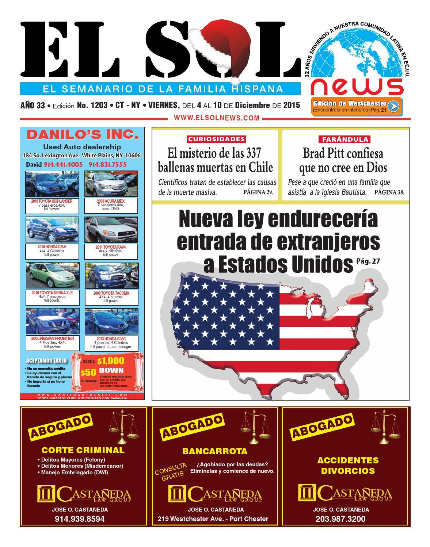 EL SOL News 1203 by EL SOL News - issuu