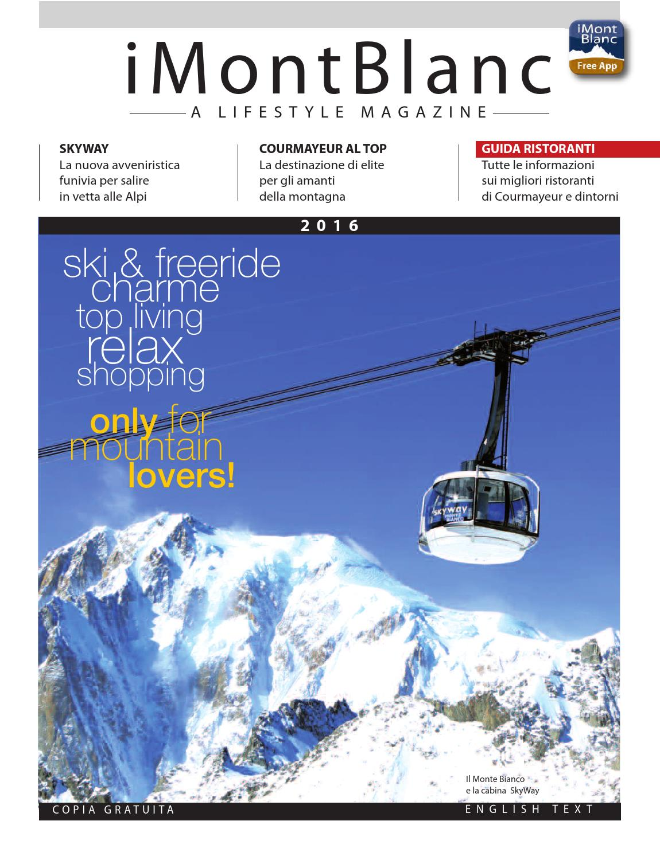 iMontBlanc MAGAZINE inverno 15 16 by Gianluca Martinelli - issuu aad94585eb7