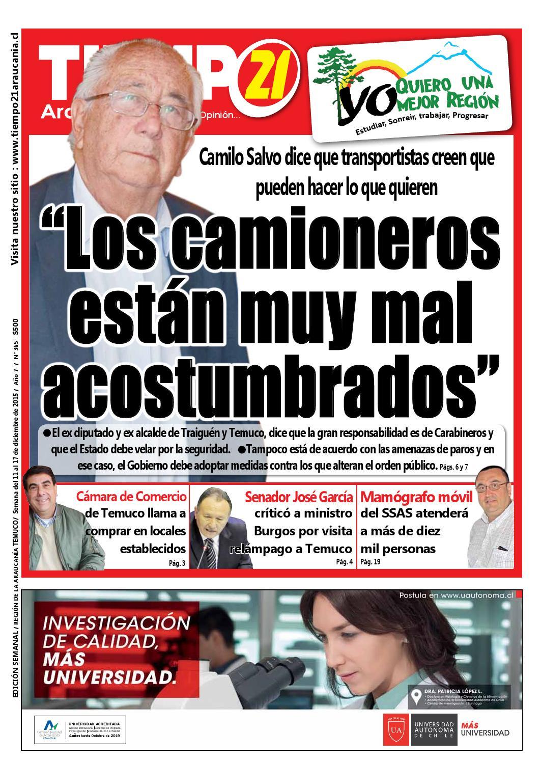 Edici N 365 Camilo Salvo Los Camioneros Est N Muy Mal  # Muebles Jouannet Ltda
