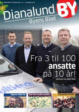 16e42ad3dc95 MAGASINET for DIANALUND • nr. 1 • december 2015