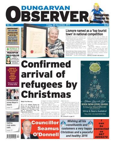 133b36aa Dungarvan observer 4 12 2015 edition by Dungarvan Observer - issuu