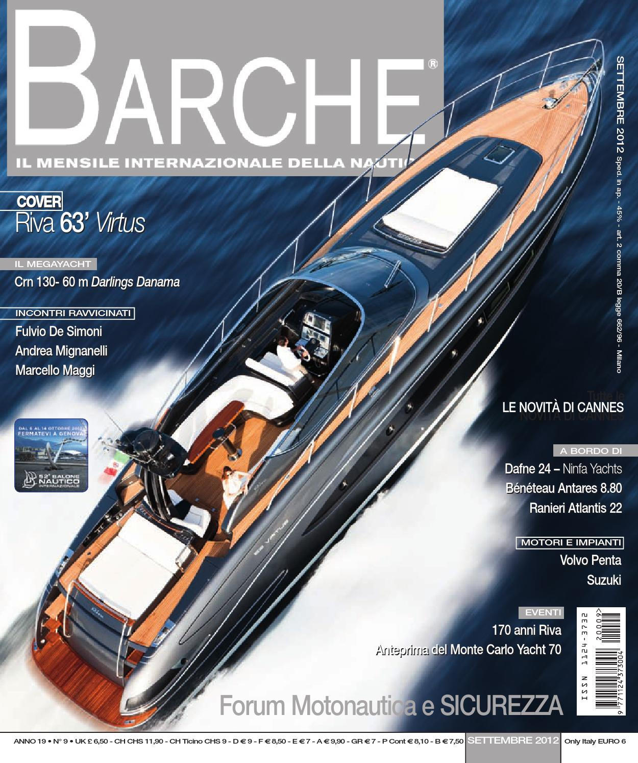 BARCHE September 2012 by INTERNATIONAL SEA PRESS SRL - BARCHE - issuu 24d75d26f26