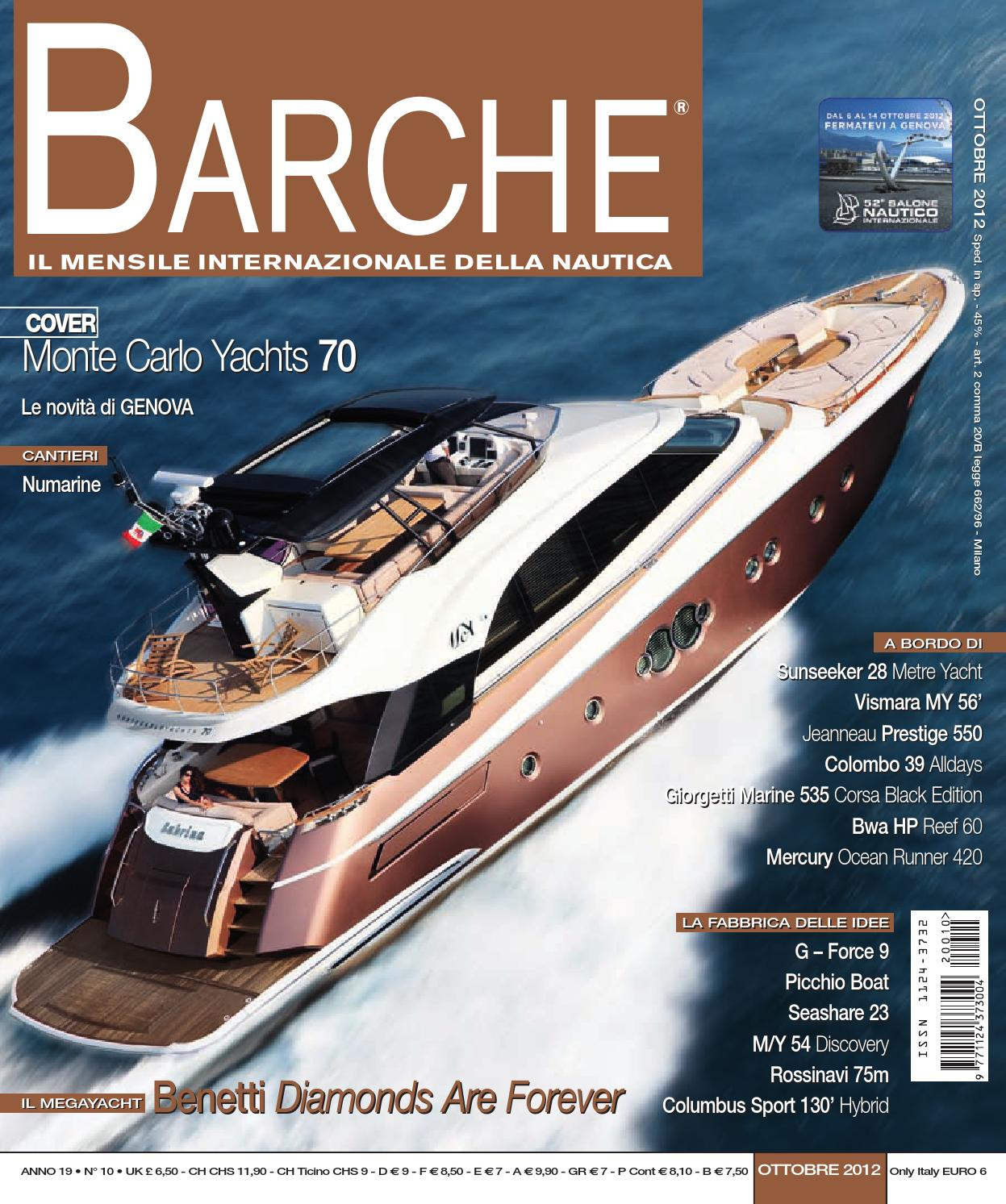 BARCHE October 2012 by INTERNATIONAL SEA PRESS SRL - BARCHE - issuu 1c834289977