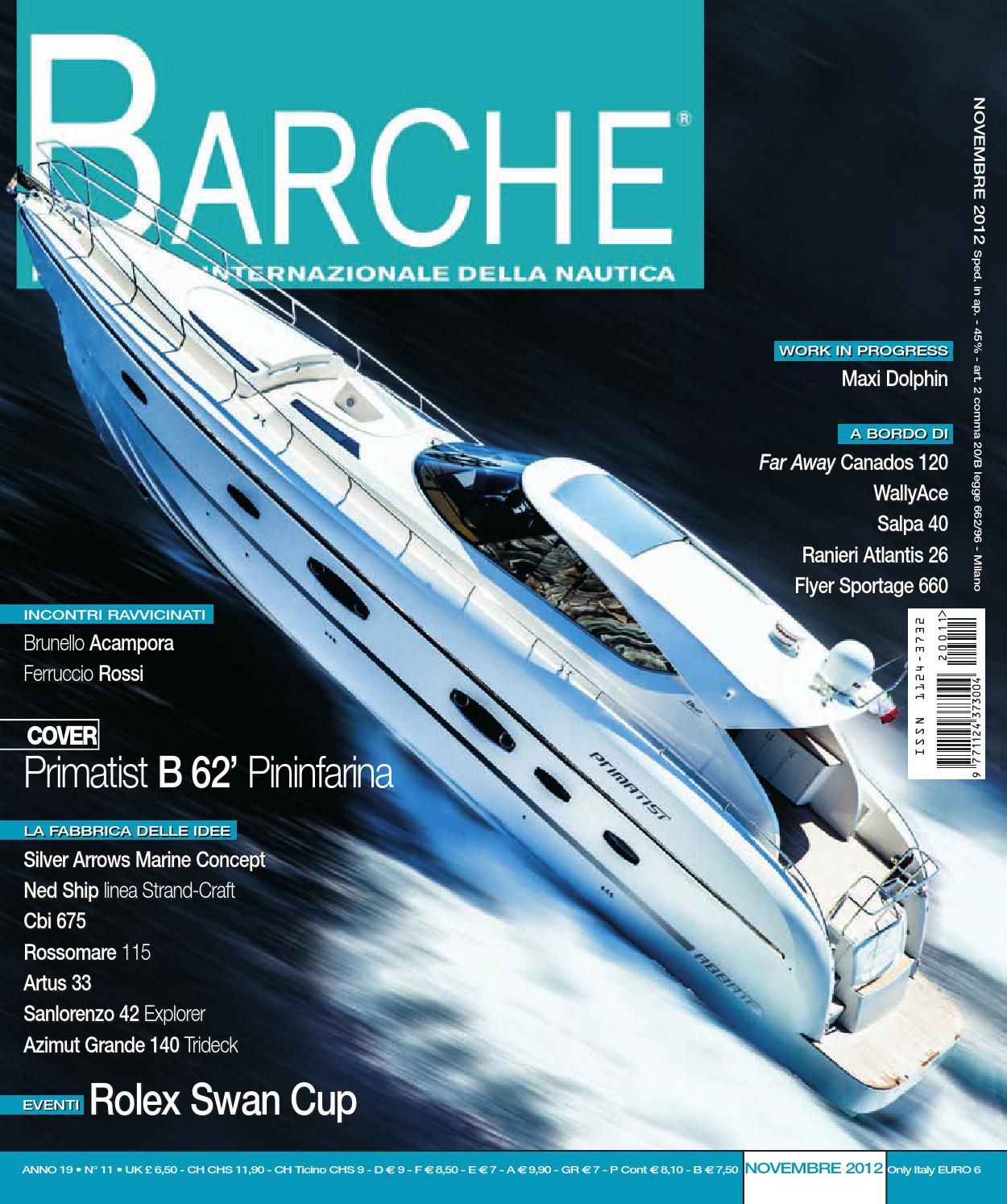 BARCHE November 2012 by INTERNATIONAL SEA PRESS SRL - BARCHE - issuu 07f2fc96278