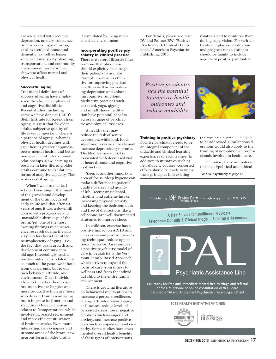 MN Physician Dec 2015 by Minnesota Physician Publishing - issuu