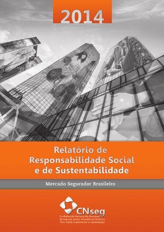 Relatório de Responsabilidade Social e Sustentabilidade 2014 by ... 33beb4353cb7d