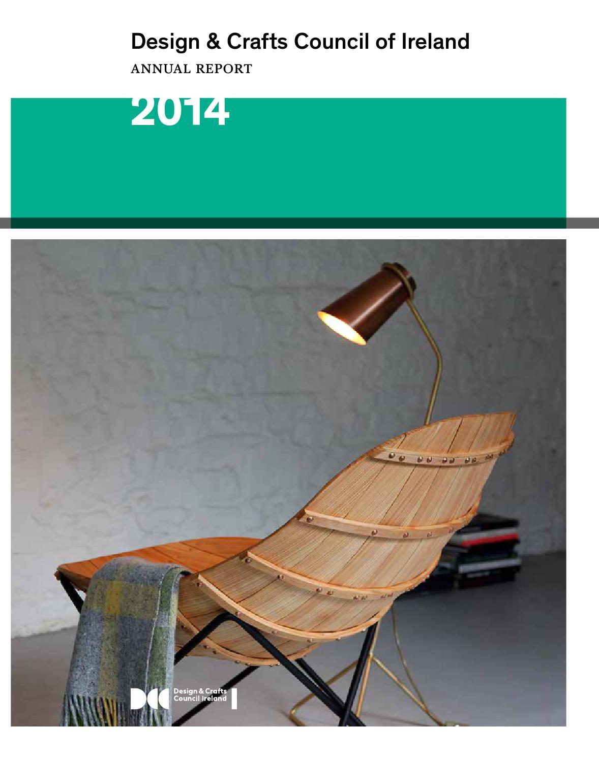 Design Crafts Council Of Ireland Annual Report 2014 By Design  # Meuble Tv Murale Meuble Tv Murale Design Ronna Mobilo Design