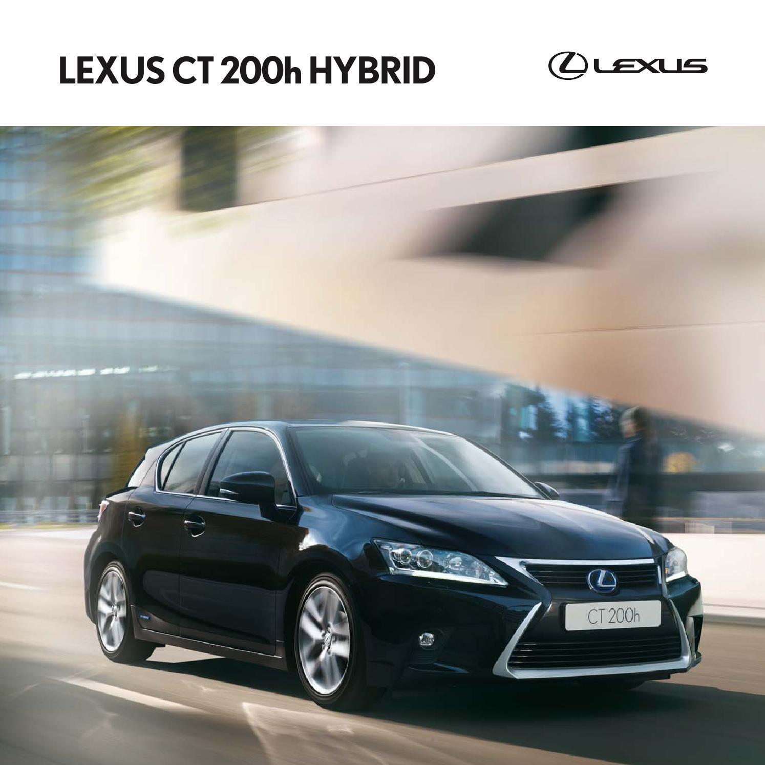 Lexus Dealerships In Ct: Ct200h 2015 02 By Lexus Europe