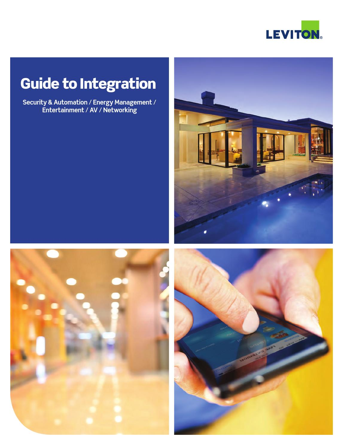 Leviton 2016 guide to integration by Aldous Systems - issuu