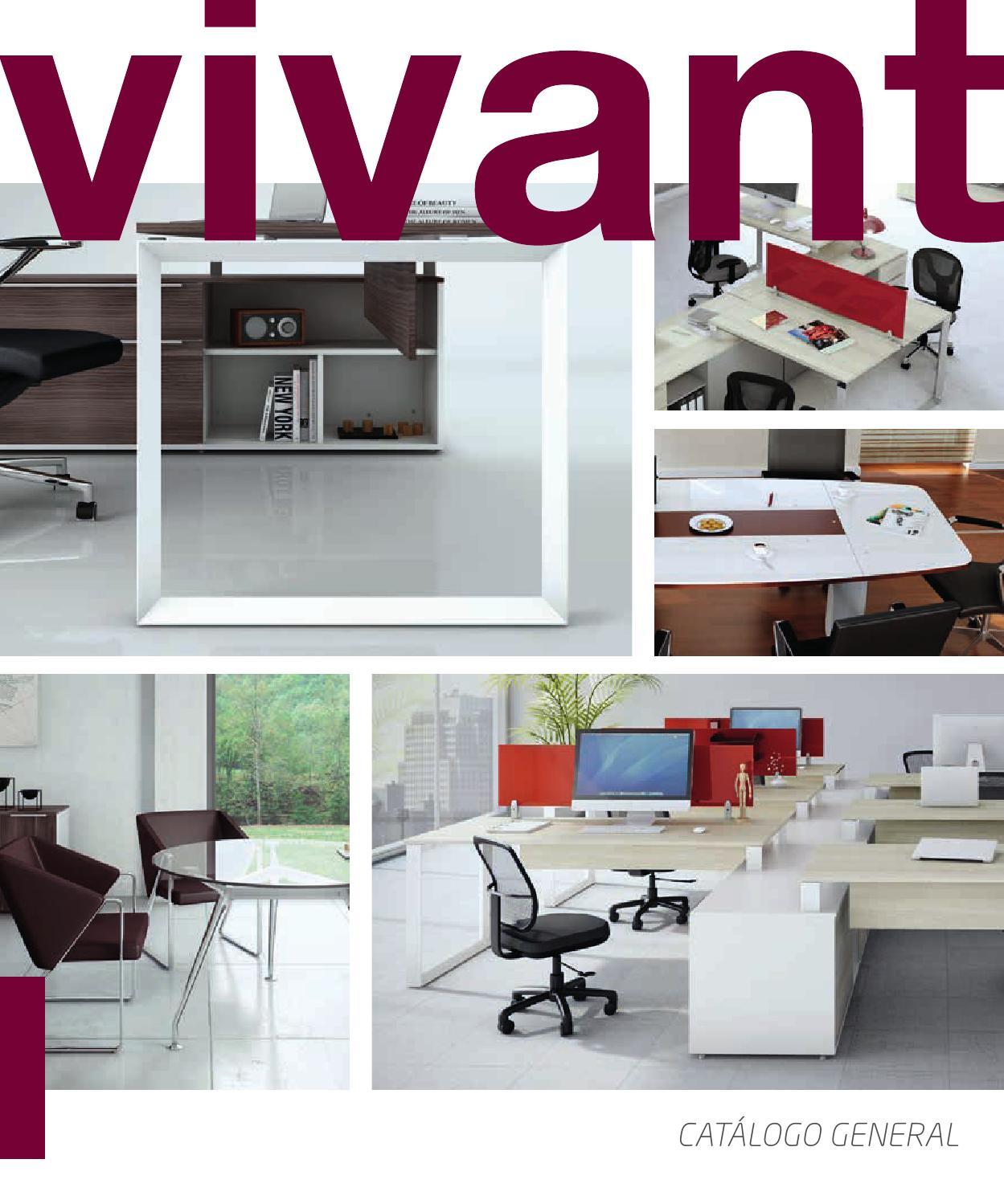 Vivant Catalogo Mobiliario Oficina By Dp Soluciones En