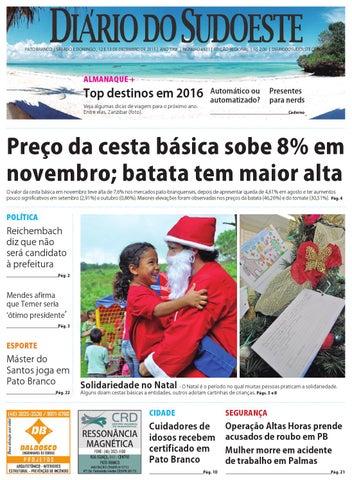 ef9d380f05b Diário do sudoeste 12 e 13 de dezembro de 2015 ed 6531 by Diário do ...