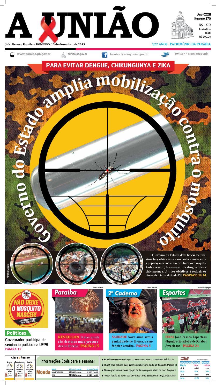 3cddcdacca Jornal A União - 13 12 2015 by Jornal A União - issuu