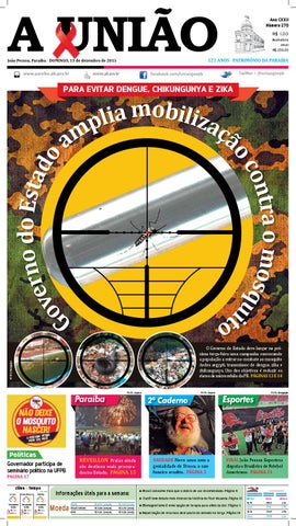 3e8085029f Jornal A União - 13 12 2015 by Jornal A União - issuu