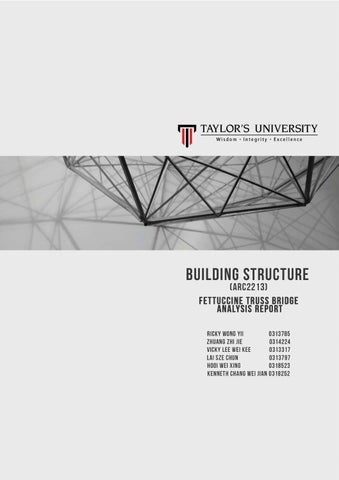 BUILDING STRUCTURE REPORT PROJECT 1 by Vicky Lee - issuu