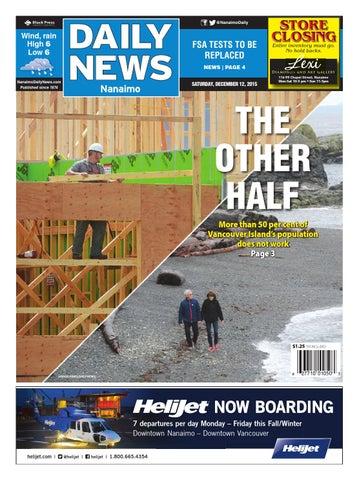 Nanaimo Daily News, December 12, 2015 by Black Press Media