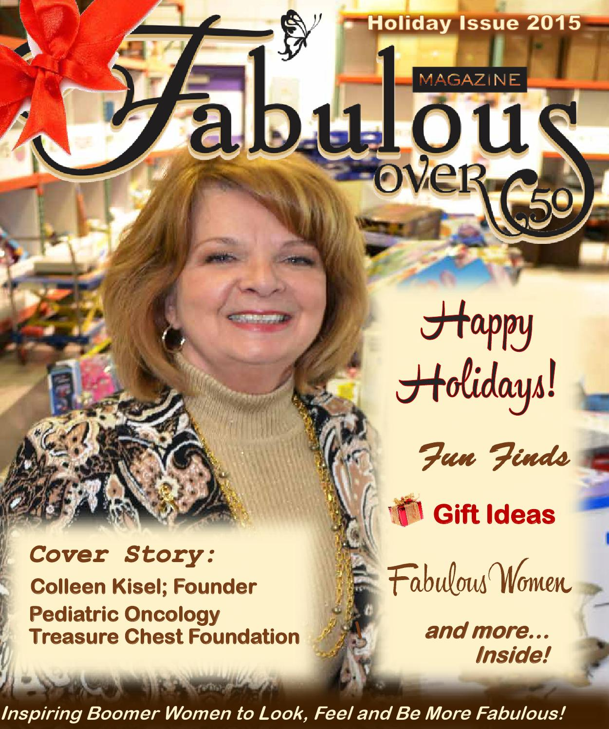 Fat Over Fab 50: Fabulous Over 50 Holiday 2015 By Christine Neal