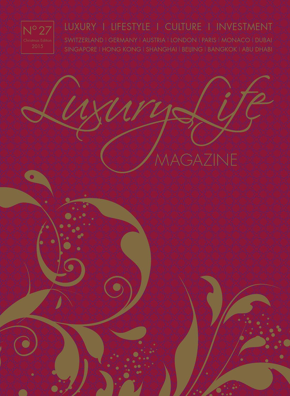 luxury life magazine christmas edition 2015 by luxury life, Schlafzimmer entwurf