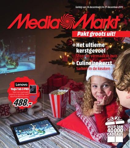 Mediamarkt Kerst Folder 2015 By Online Folders Issuu