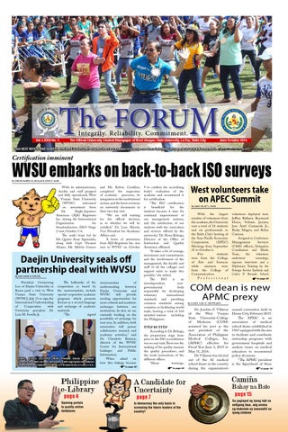 The Forum Tabloid 2015 by Forum Dimensions - issuu