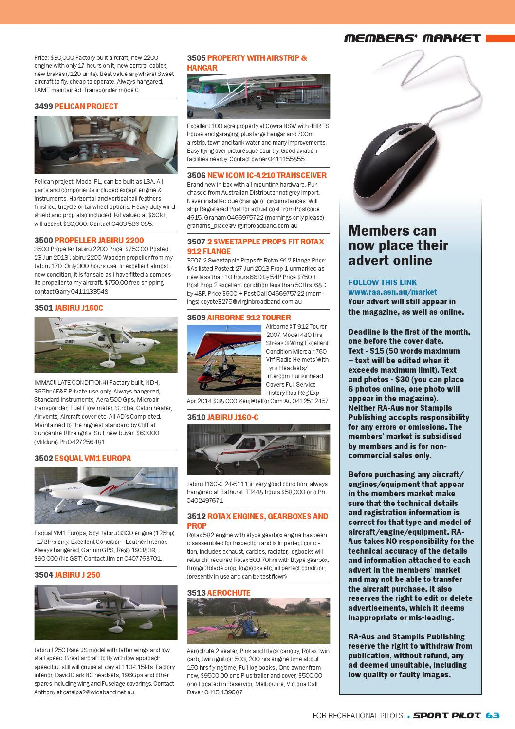 Sport pilot 26 aug 2013 by Recreational Aviation Australia