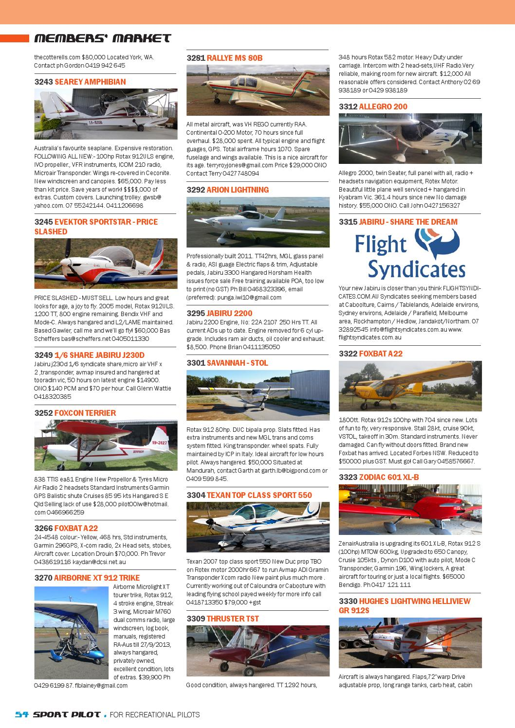Sport pilot 25 jul 2013 by Recreational Aviation Australia