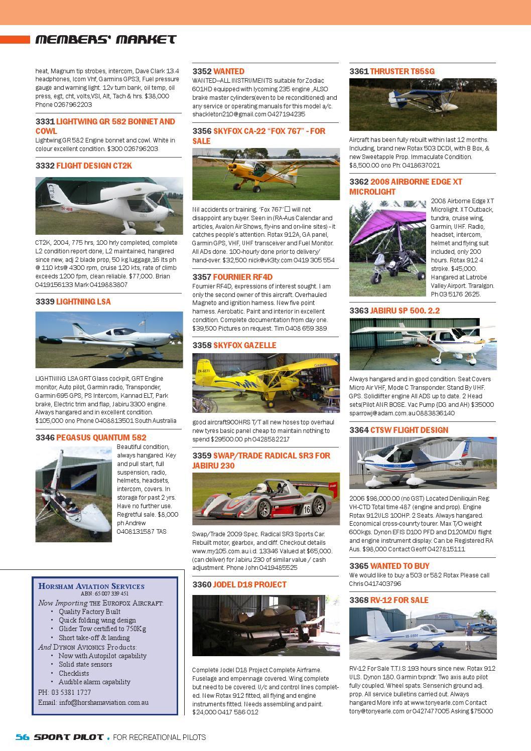 Sport pilot 25 jul 2013 by Recreational Aviation Australia