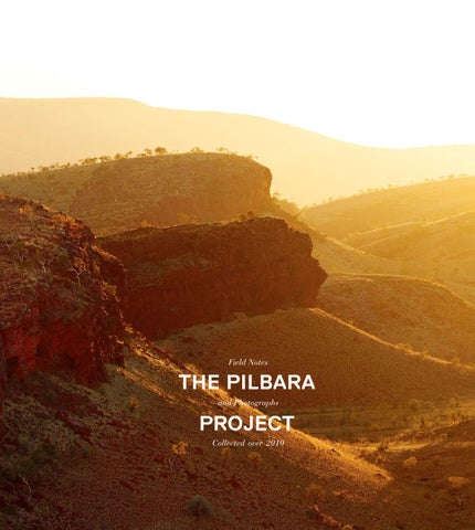 The Pilbara Project by FORM WA - issuu