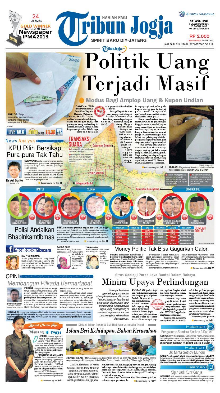 Tribunjogja 08 12 2015 By Tribun Jogja Issuu Produk Ukm Bumn Ci Embul Tahu Bakso 250g Original Free Ongkir Depok Ampamp Jakarta